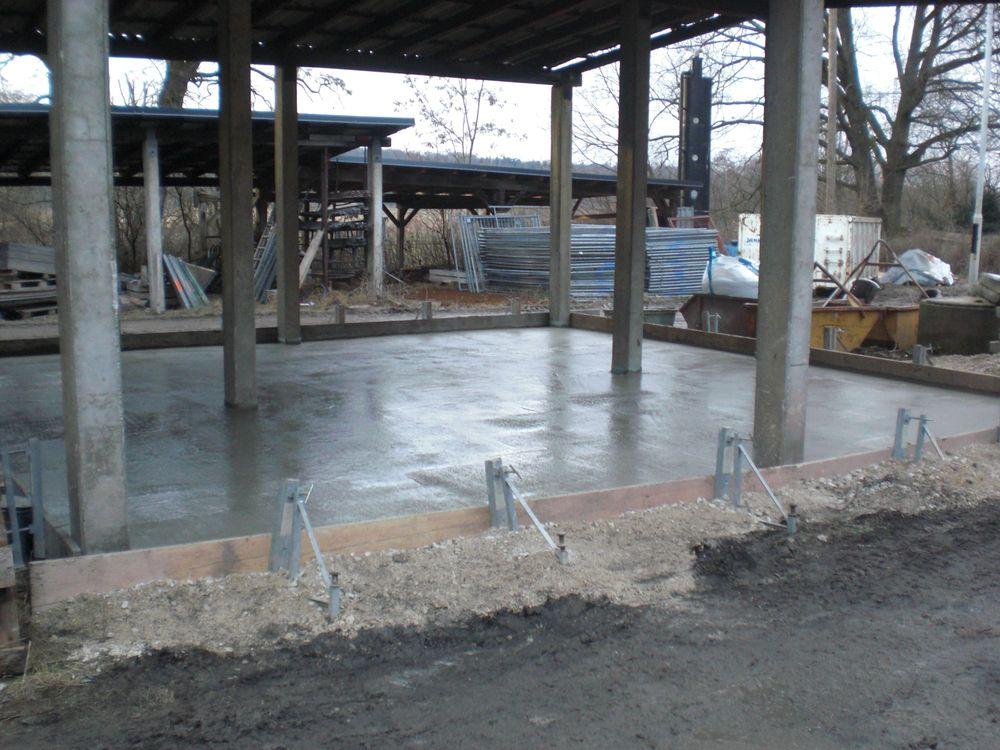 Awesome Bodenplatten Aus Stahlbeton Können Zusätzliche Fundamente überflüssig  Machen.
